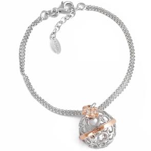 99ed9b08891512 Bracciale angeli AG925 con perle swarovski e zirconi bianchi € 49,00 €  41,65. outlet