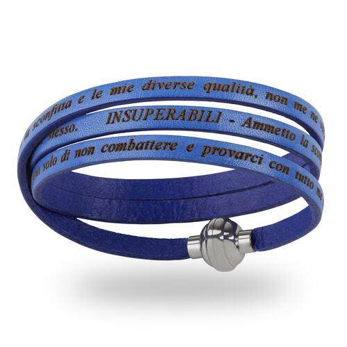 Bracciale Insuperabili Blu