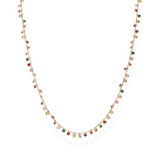 Collana Chandelier 60 cm Multicolor