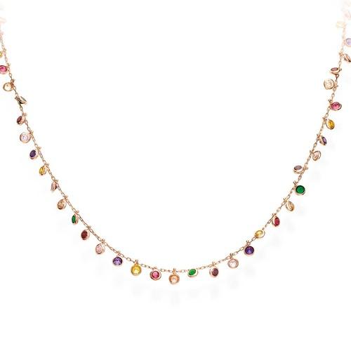 Collana Chandelier Multicolor