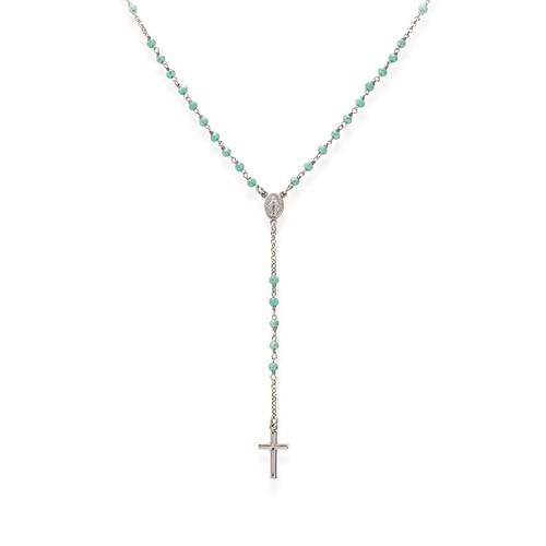 Collana Rosario Cristalli Tiffany