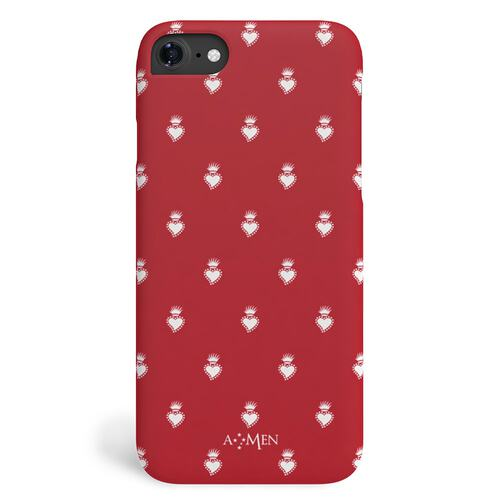 Cover Sacro Cuore Rosso iPhone 7/8