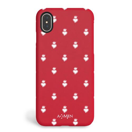 Cover Sacro Cuore Rosso iPhone X/XS